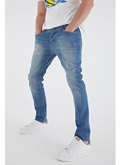 Modaset Regular Fit Jean Pantolon Mavi